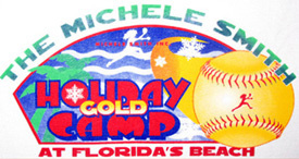 Michele Smith Holiday Gold Camp in Florida